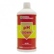 GHE pH-Down 1L, regulator obniżający PH w płynie