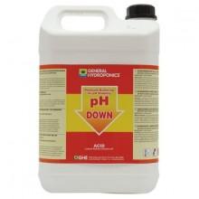 GHE pH-Down 5L, regulator obniżający PH w płynie
