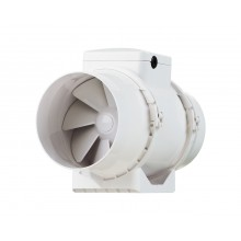 Duct fan 2-speed 145-187m3/h, fi 100mm