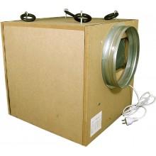 BOX MDF, 70W fi125mm 250m3/h WENTYLATOR RADIALNY