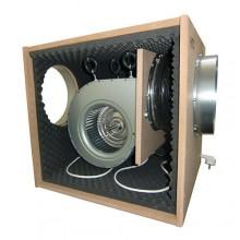 BOX MDF, 490W fi350/2x250 2500m3/h WENTYLATOR RADIALNY