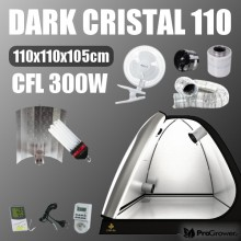 Complete Kit: Growbox Dark Cristal 110 + CFL 300W