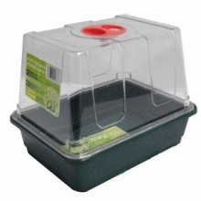 Propagator mini, unheated, with ventilation flaps, 23 x 17 x 18.5 cm