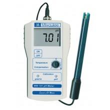 ELEKTRONICZNY MIERNIK pH MILWAUKEE MW100, ZAKRES: 0-14pH, DOKŁ.: 0,2pH