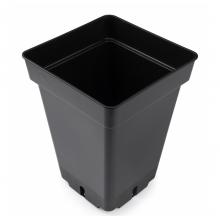 Square pot, 7 L, 20 x 20 x 27 cm