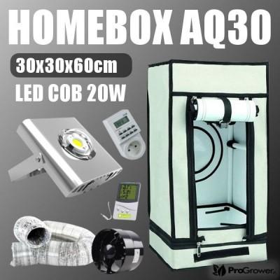 Zestaw LED Mini: Homebox AQ30 + LED COB 20W