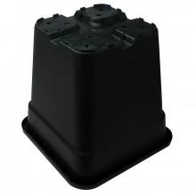 Square pot, 30 L,