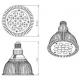 Żarówka LED GROW Cultilite 15W E27