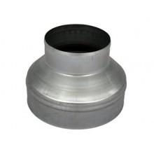 Redukcja stalowa, okrągła, 200/125mm