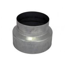 Redukcja stalowa, okrągła, 160/125mm