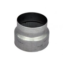Redukcja stalowa, okrągła, 150/125mm