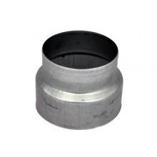 Steel reduction, round, 150/125mm
