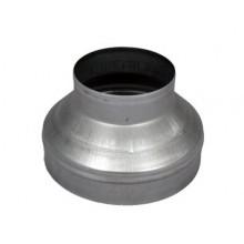 Redukcja stalowa, okrągła, 250/125mm