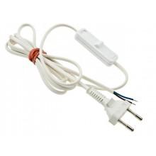 Kabel przyłączeniowy, zasilający, dwużyłowy, z włącznikiem 3m.