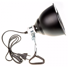 LIGHT DOME 180 E27 parabolic reflector, with cable and clamp