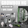 Komplettset: Growbox Herbgarden 70x70x100cm + HPS 250W