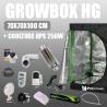 Komplettset: Growbox Herbgarden 70x70x100cm +  Cooltube HPS 250W