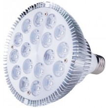 LED bulb 18W E27, complementary light IR + white