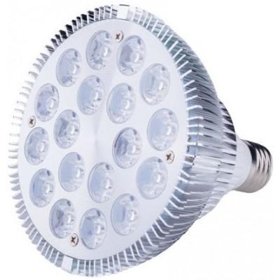 Żarówka LED 18W E27, światło uzupełniające podczerwień IR + białe