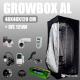 Zestaw do uprawy: Growbox AL 40x40x120cm + CFL 125W