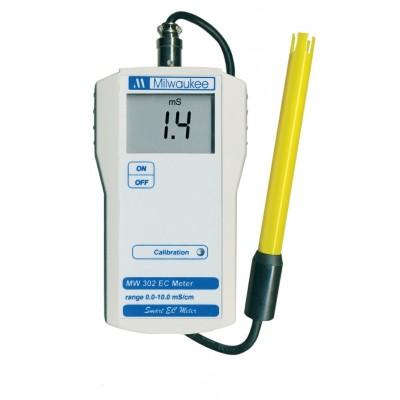 MILWAUKEE MW302, elektroniczny miernik EC, 10000µS/cm, 0-50st.C
