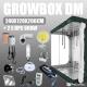 Zestaw do uprawy: Growbox DM 240x120x200cm + 2 x HPS 600W