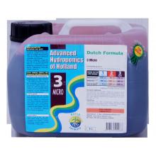 Advanced Hydroponics of Holland DUTCH FORMULA 3 MICRO 5L, nawóz uzupełniający (mikroelementy)