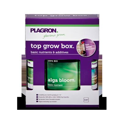 Plagron Top Grow Box, zestaw organicznych nawozów do gleby