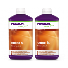 Plagron Cocos A&B 1L, uniwersalny nawóz do kokosu