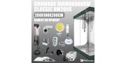 Zestaw do uprawy: Growbox DM 200x100x200cm + 2 x HPS 400W