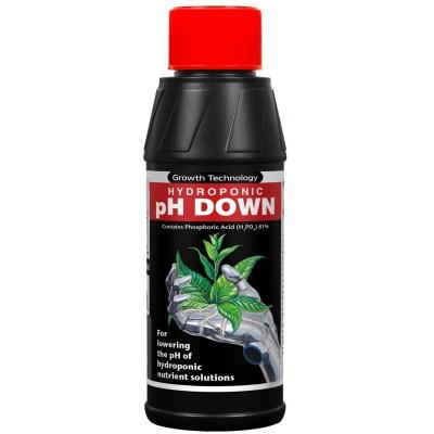 Growth Technology pH Down 250ml, regulator obniżający poziom pH