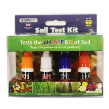 GARLAND SOIL NPK, pH TEST KIT (60 TESTS)