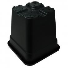 Square pot, 6 L, 21 x 21 x 21.6 cm