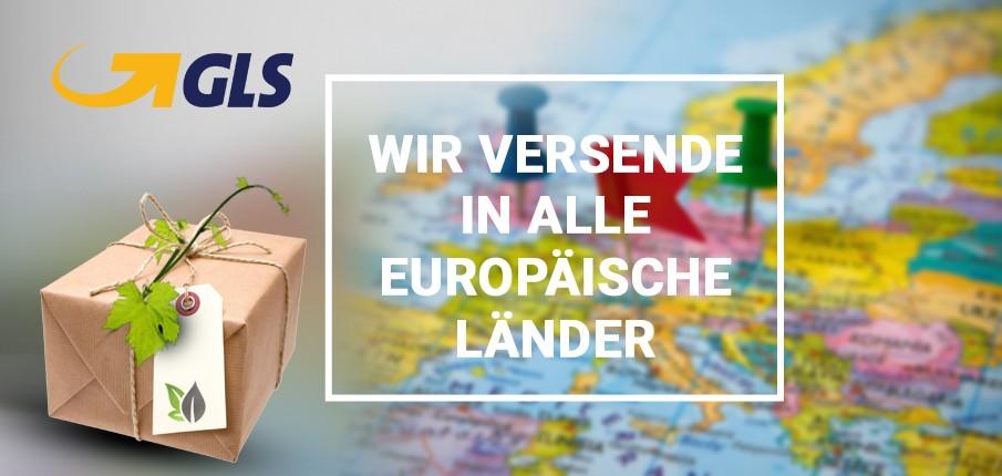 Wir versenden in alle europäische Lander!